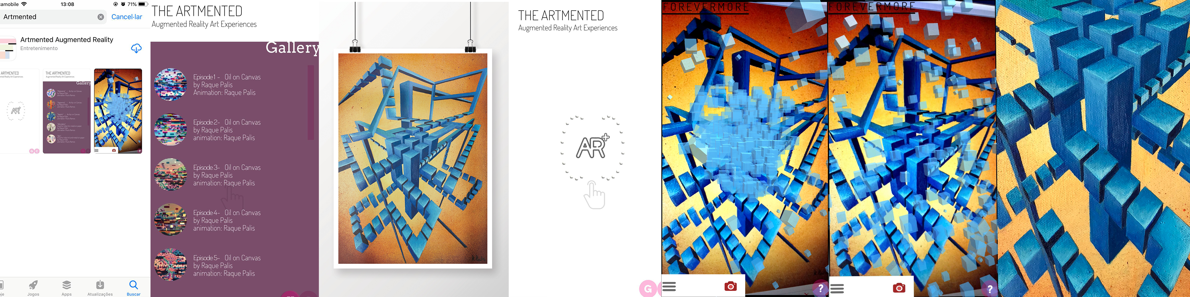 App Artmented Augmented Reality Art